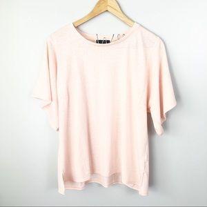NWT J. Crew boxy tee t-shirt pink